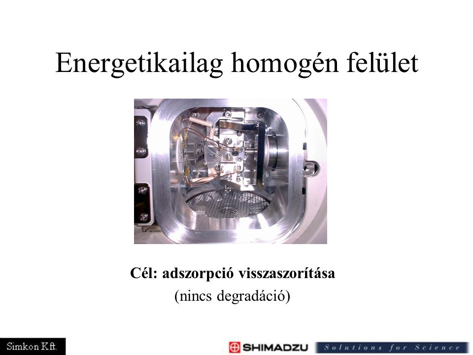 Energetikailag homogén felület