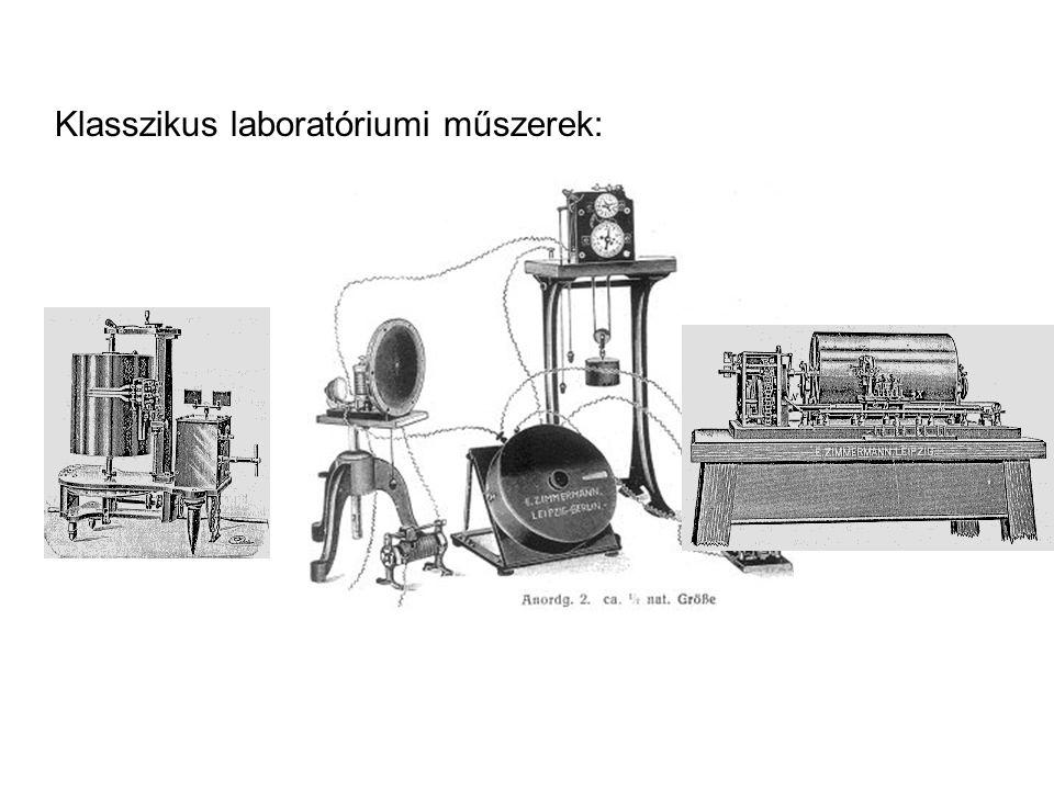 Klasszikus laboratóriumi műszerek: