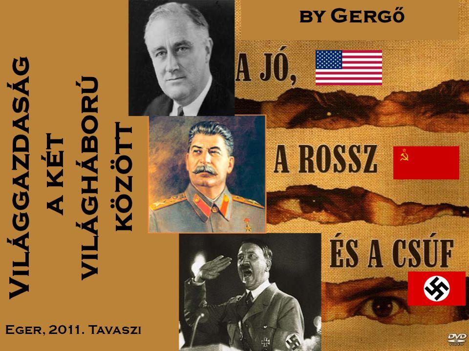 Világgazdaság a két világháború között