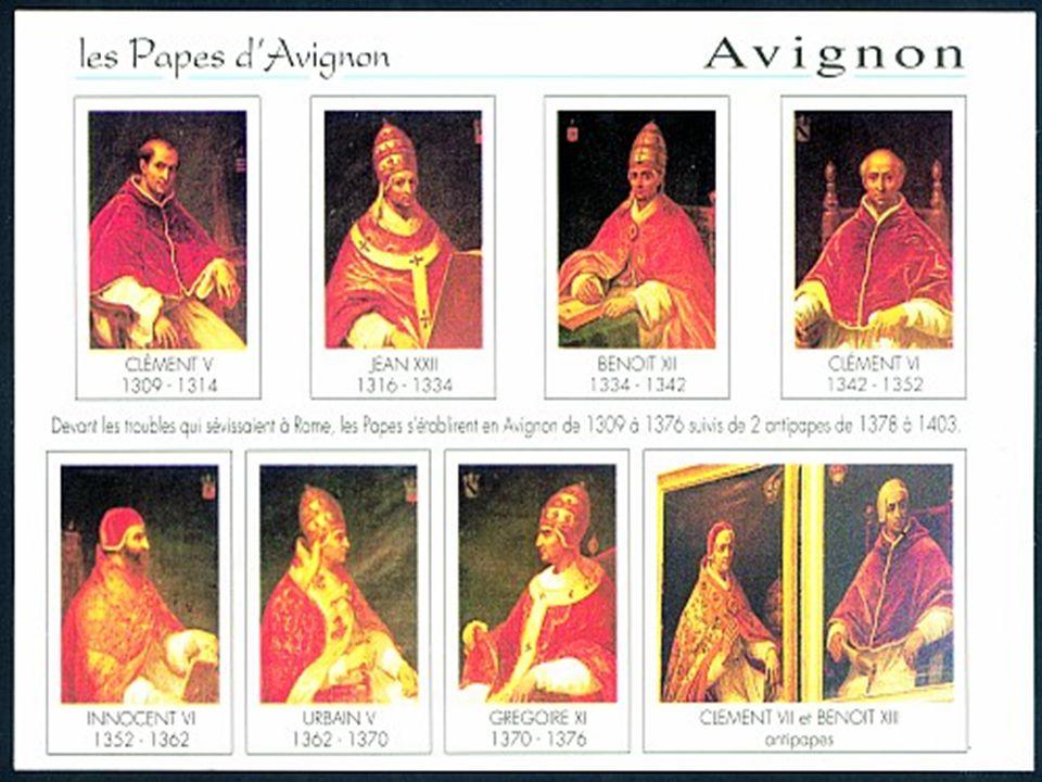 Avignoni pápaság Francia királyság felemelkedése