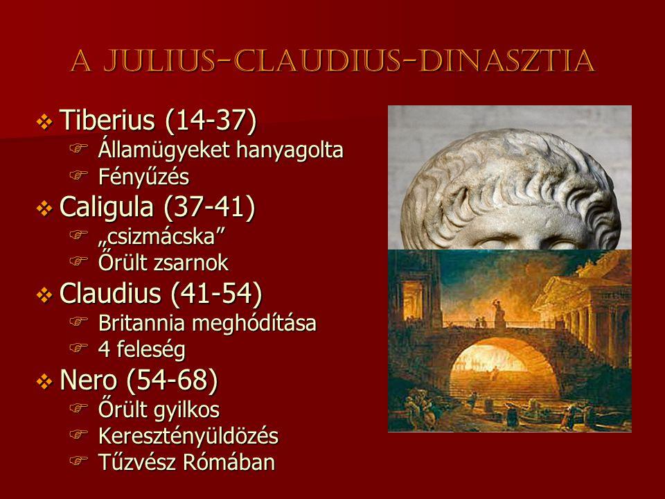 A Julius-Claudius-dinasztia