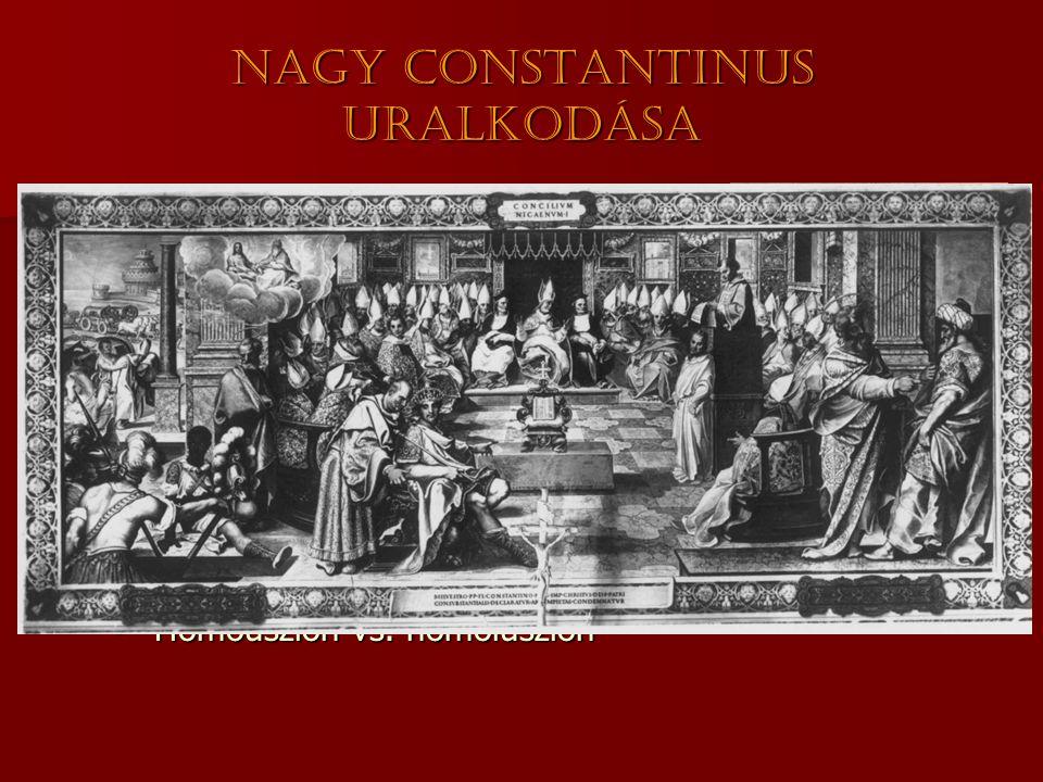 Nagy Constantinus uralkodása