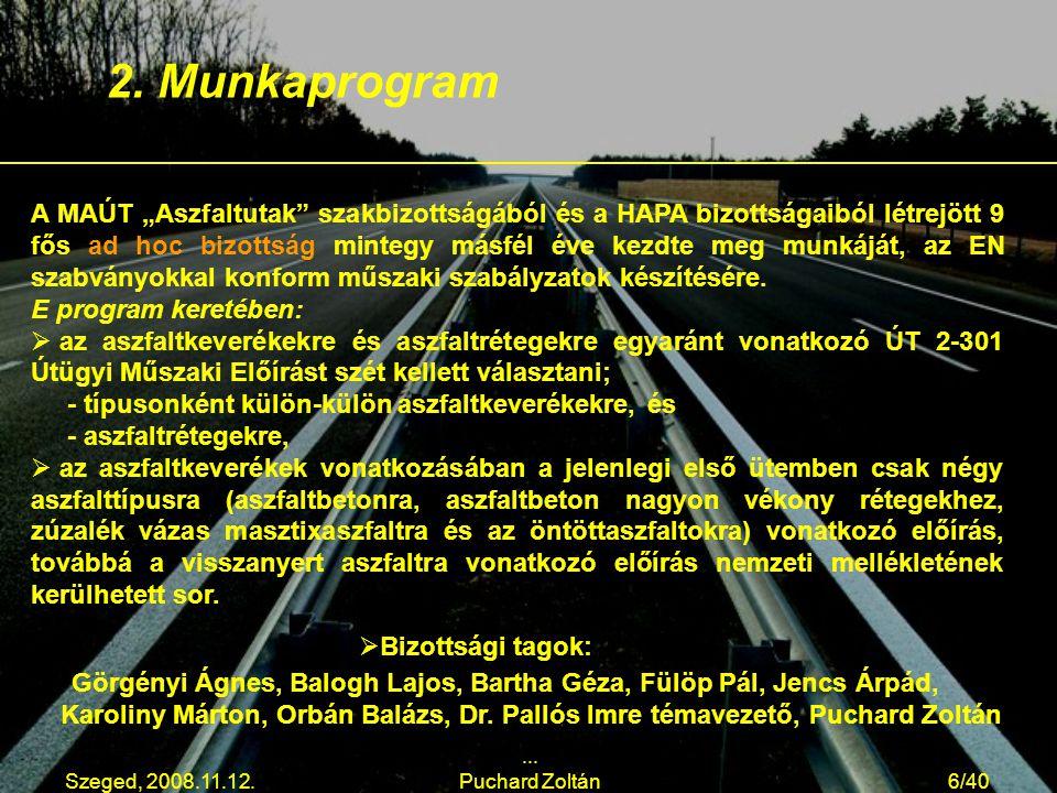2. Munkaprogram