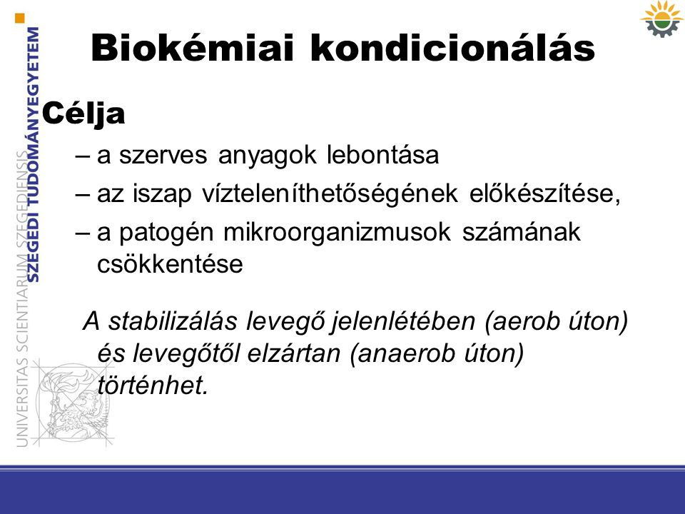 Biokémiai kondicionálás