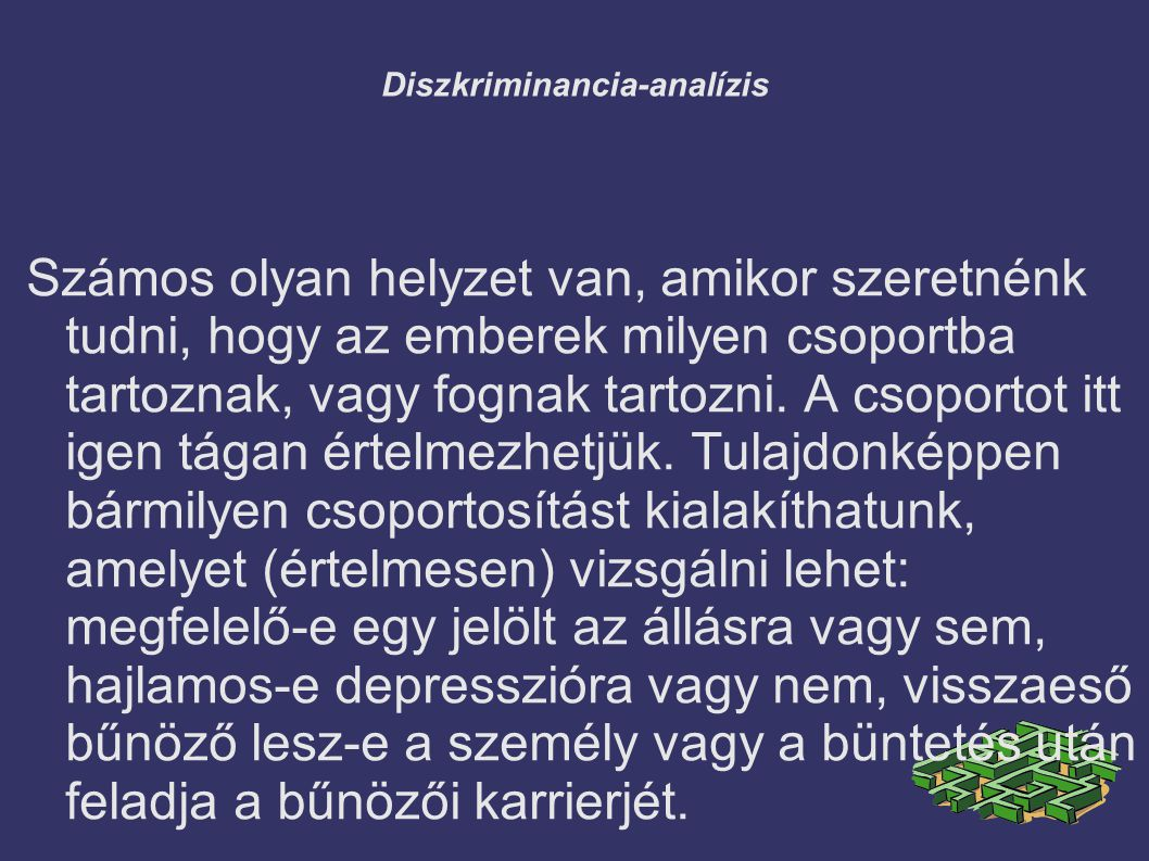 Diszkriminancia-analízis