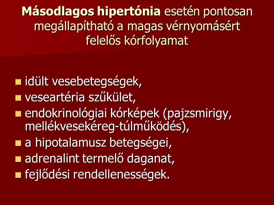 Másodlagos hipertónia esetén pontosan megállapítható a magas vérnyomásért felelős kórfolyamat