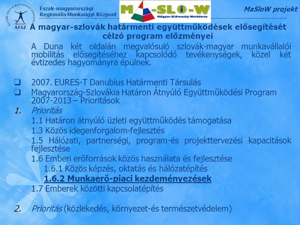 2007. EURES-T Danubius Határmenti Társulás