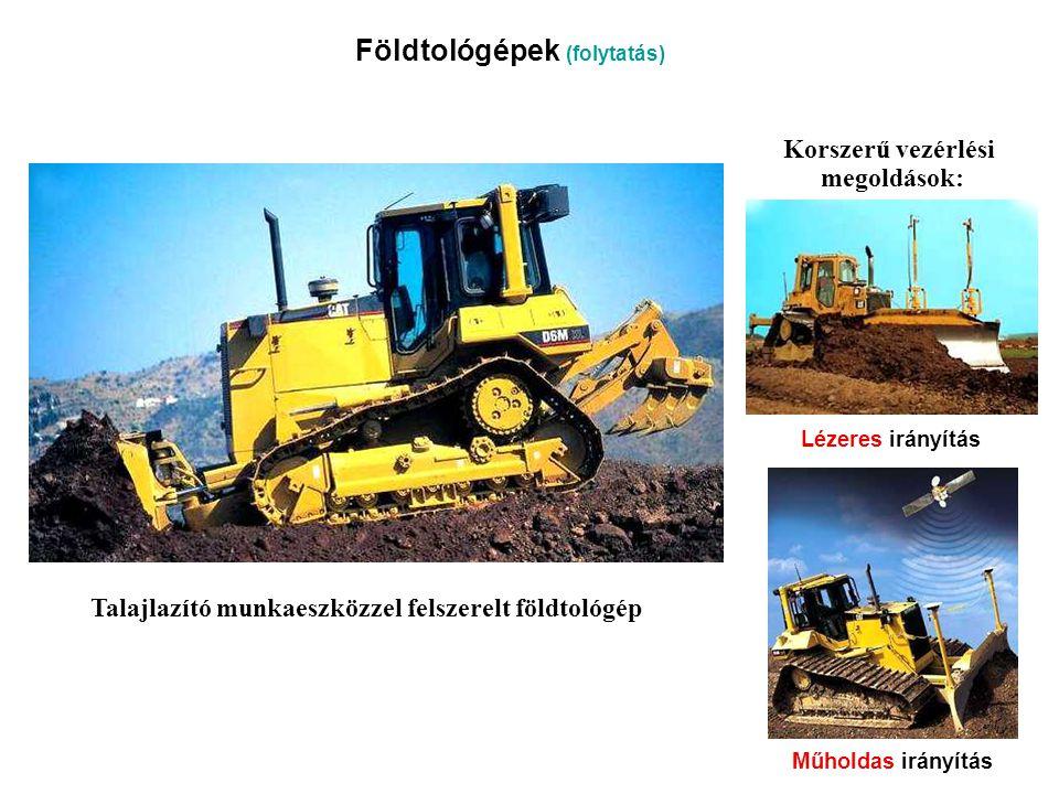 Földtológépek (folytatás)
