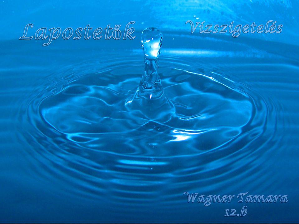 Lapostetők Vízszigetelés Wagner Tamara 12.b