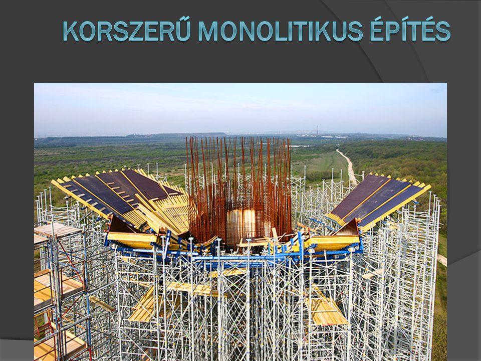 Korszerű monolitikus építés