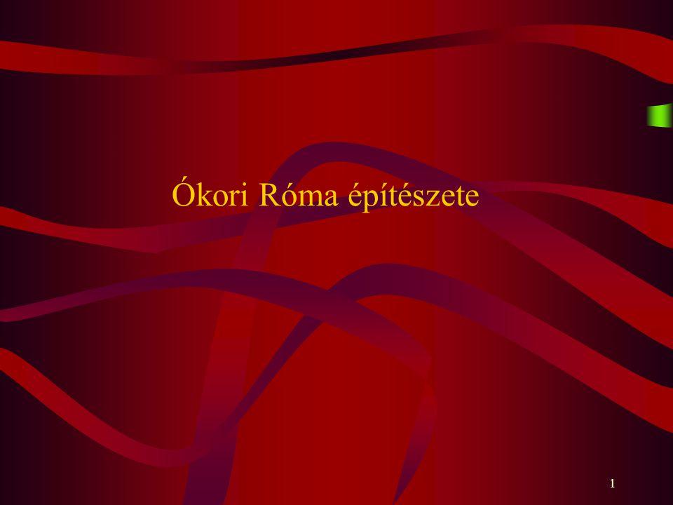 Ókori Róma építészete
