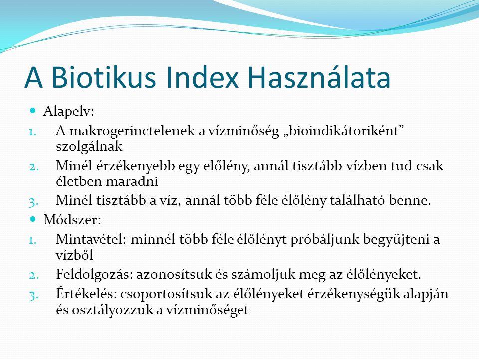 A Biotikus Index Használata