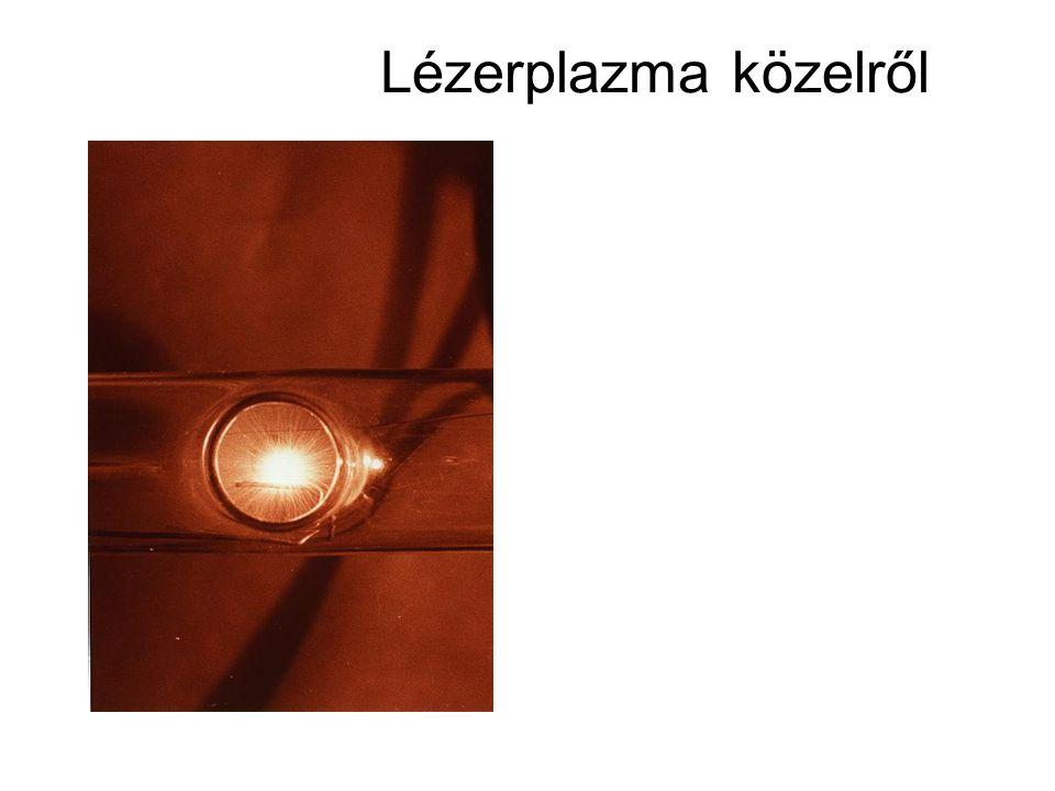 Lézerplazma közelről