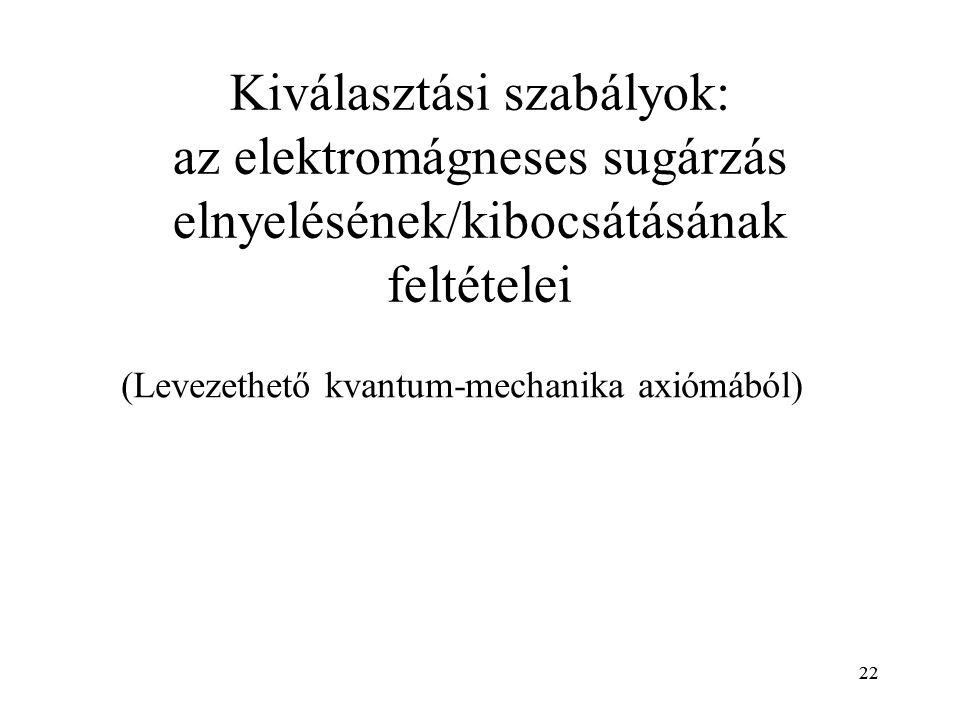 (Levezethető kvantum-mechanika axiómából)
