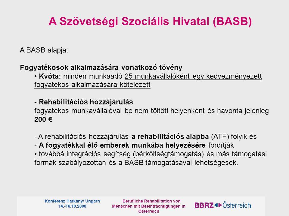A Szövetségi Szociális Hivatal (BASB)