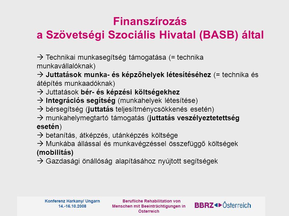 a Szövetségi Szociális Hivatal (BASB) által