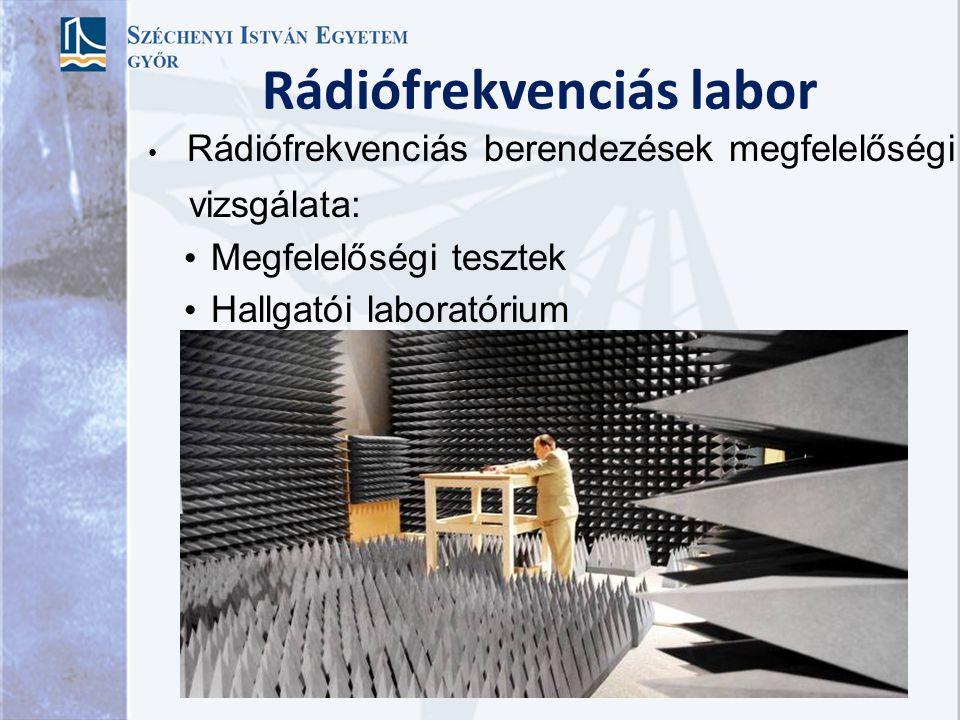 Rádiófrekvenciás labor