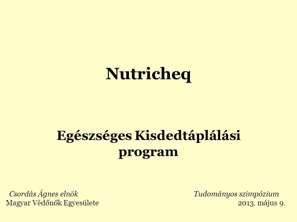 Egészséges Kisdedtáplálási program