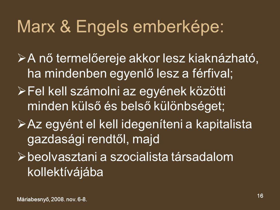 Marx & Engels emberképe: