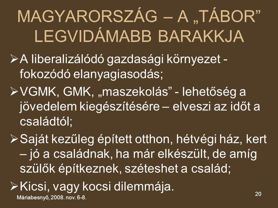 """MAGYARORSZÁG – A """"TÁBOR LEGVIDÁMABB BARAKKJA"""