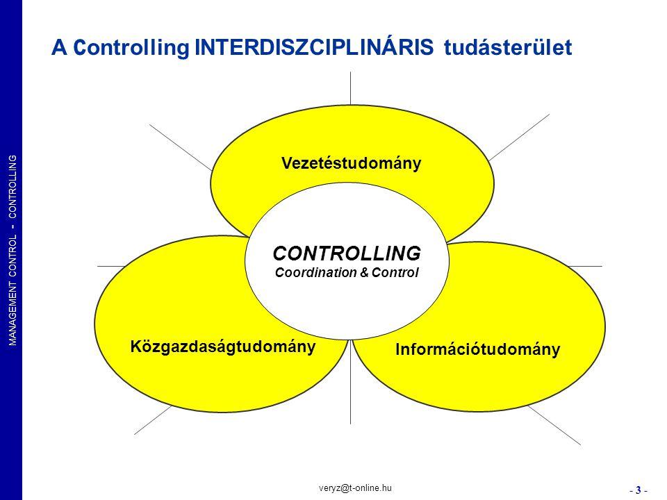 Coordination & Control