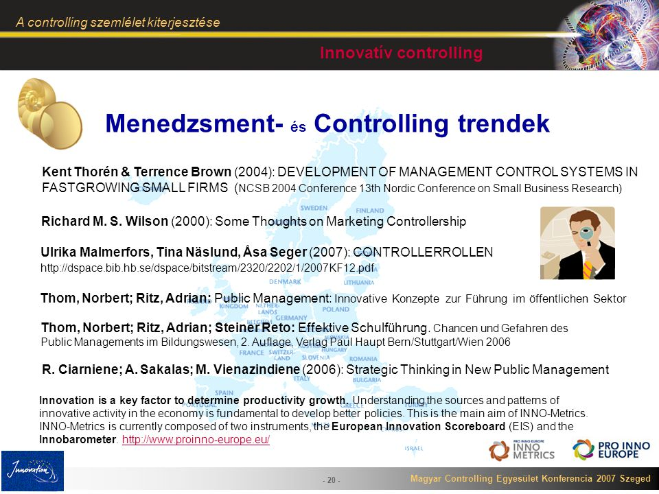 Menedzsment- és Controlling trendek