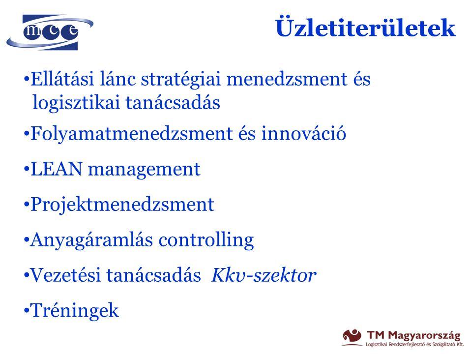 Üzletiterületek Ellátási lánc stratégiai menedzsment és