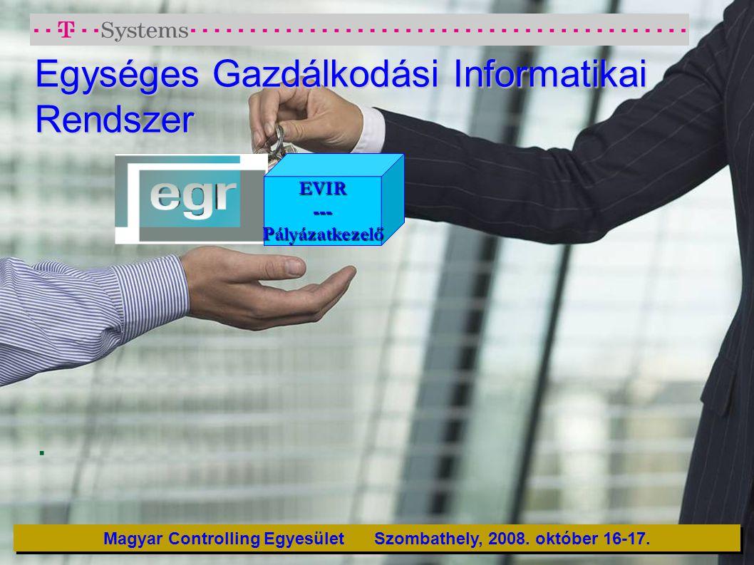 Egységes Gazdálkodási Informatikai Rendszer
