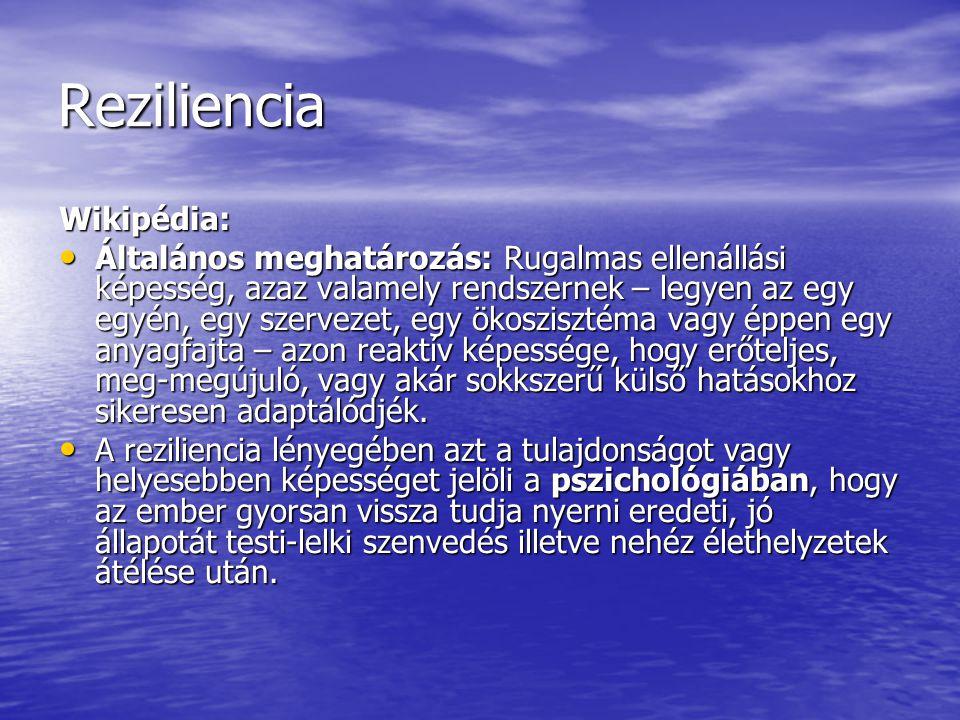 Reziliencia Wikipédia: