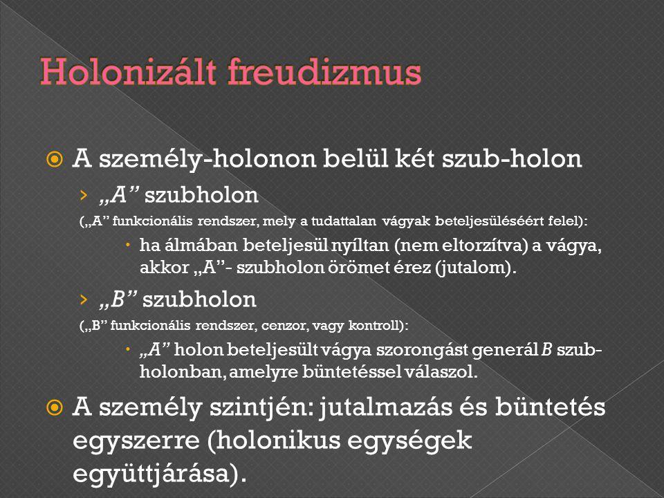 Holonizált freudizmus
