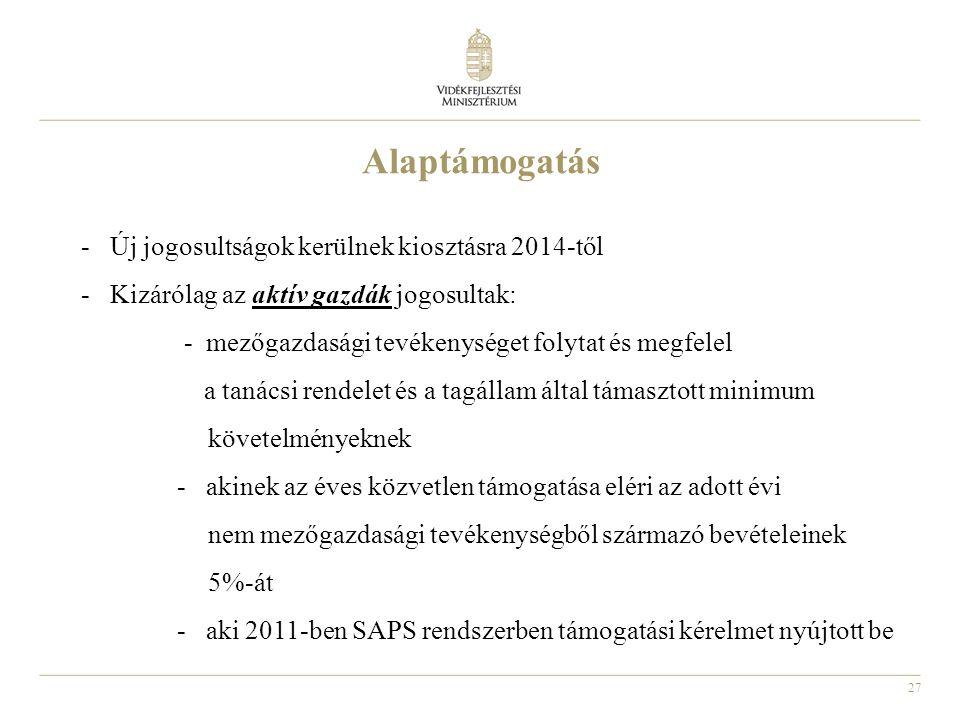 Alaptámogatás Új jogosultságok kerülnek kiosztásra 2014-től