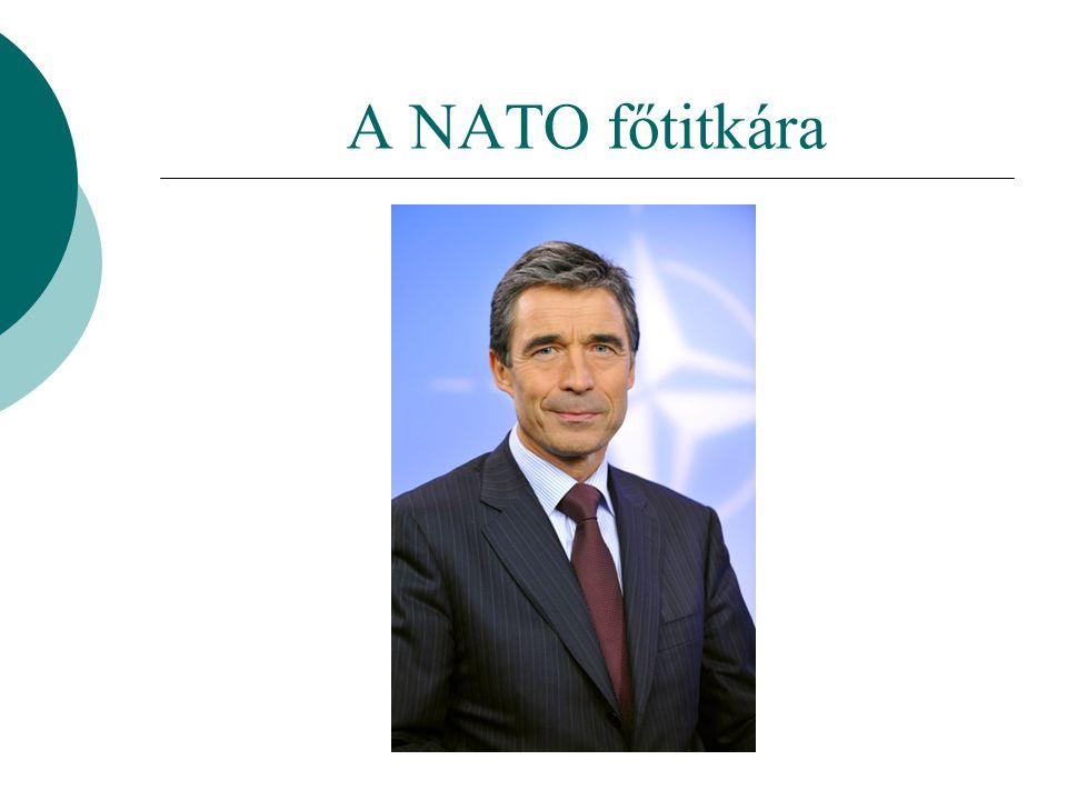 A NATO főtitkára