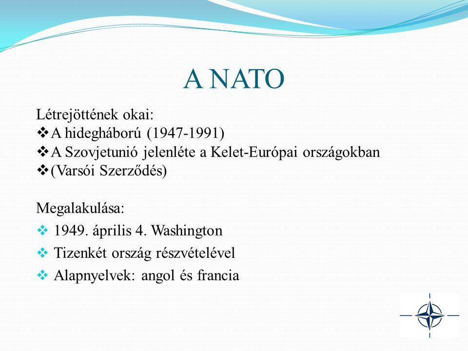 A NATO Létrejöttének okai: A hidegháború (1947-1991)