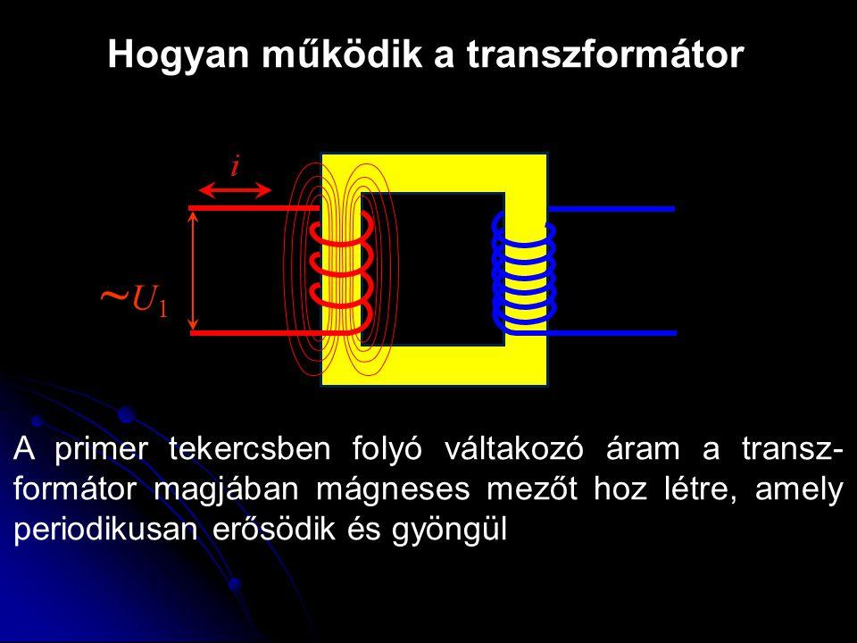 ~U1 Hogyan működik a transzformátor