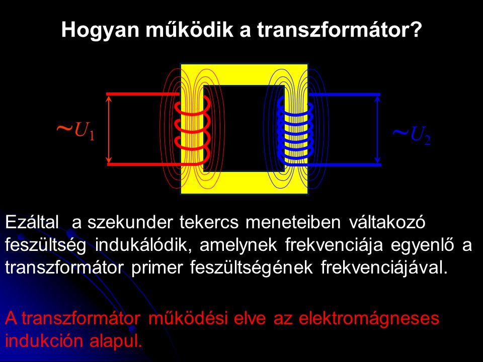 Hogyan működik a transzformátor