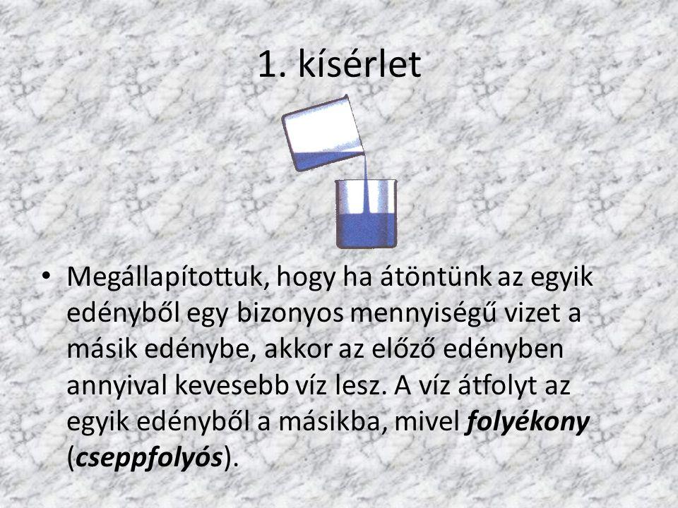 1. kísérlet
