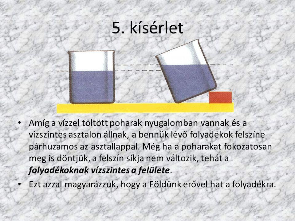5. kísérlet