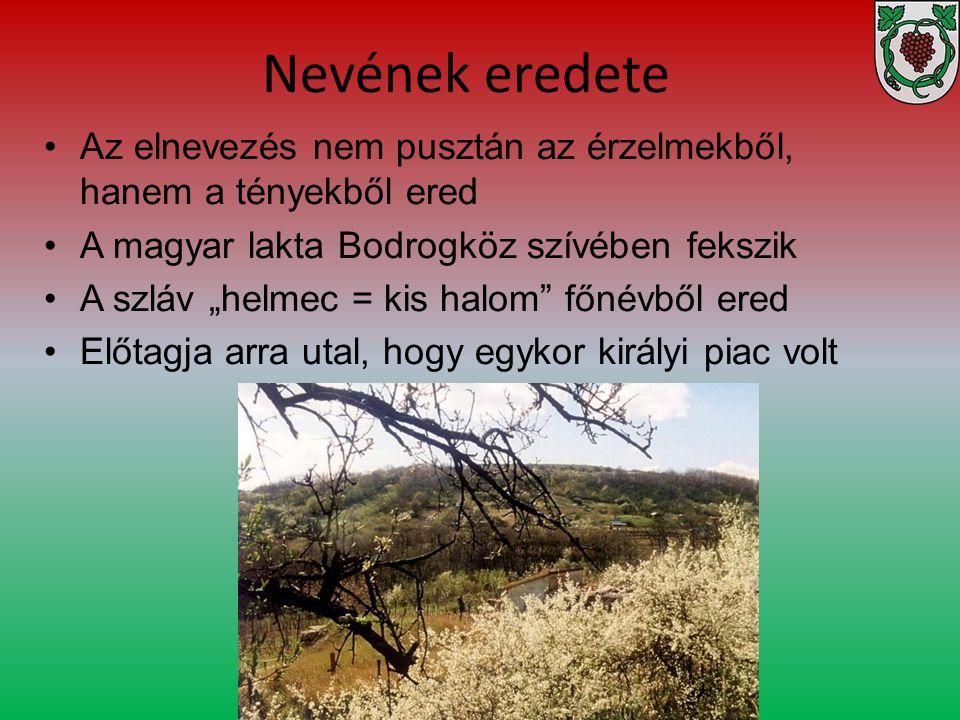 Nevének eredete Az elnevezés nem pusztán az érzelmekből, hanem a tényekből ered. A magyar lakta Bodrogköz szívében fekszik.