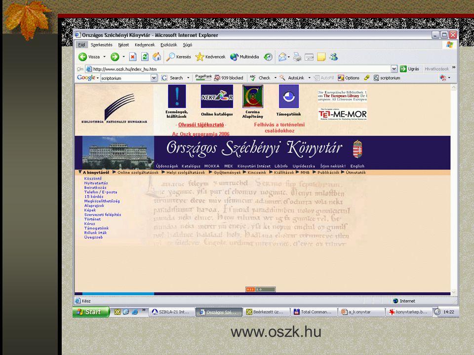 www.oszk.hu