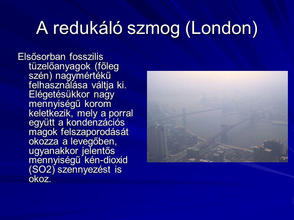 A redukáló szmog (London)