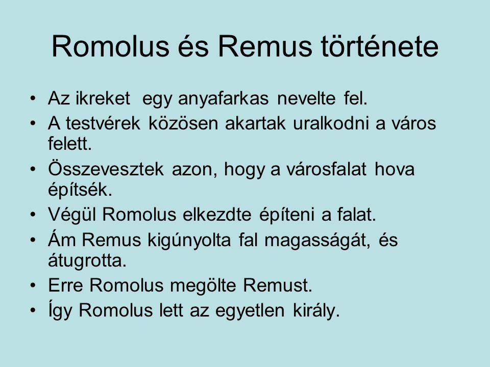 Romolus és Remus története