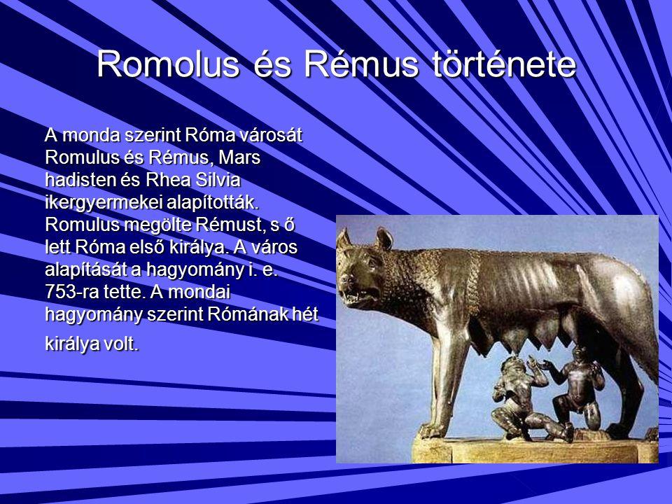 Romolus és Rémus története