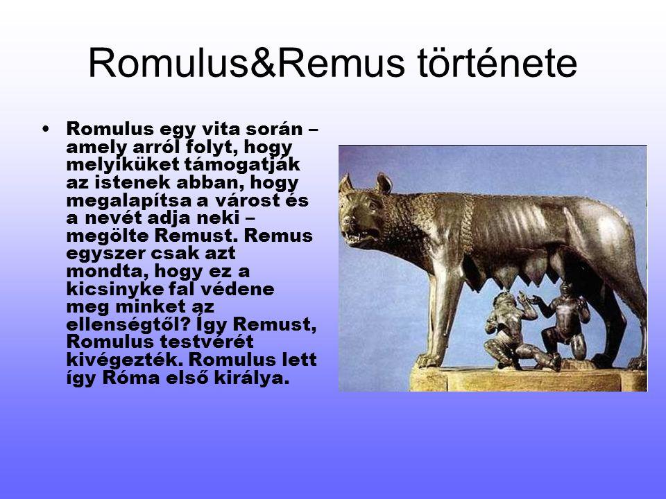 Romulus&Remus története