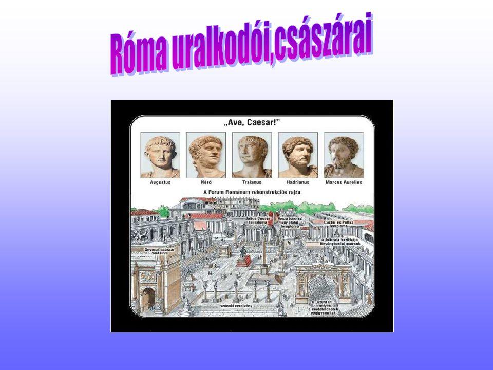 Róma uralkodói,császárai