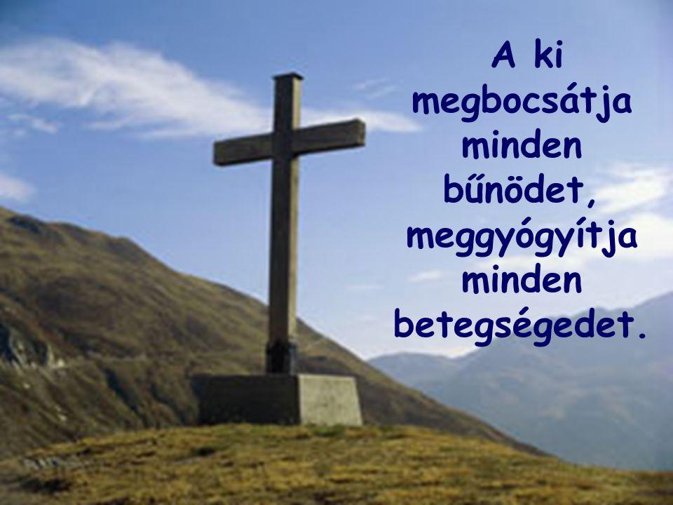 A ki megbocsátja minden bűnödet, meggyógyítja