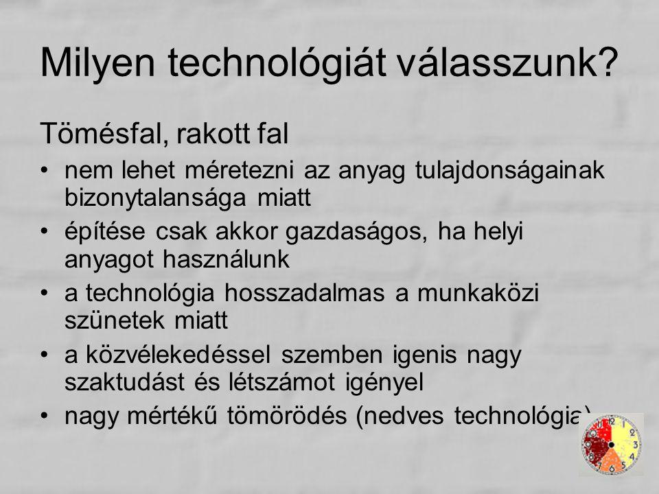 Milyen technológiát válasszunk