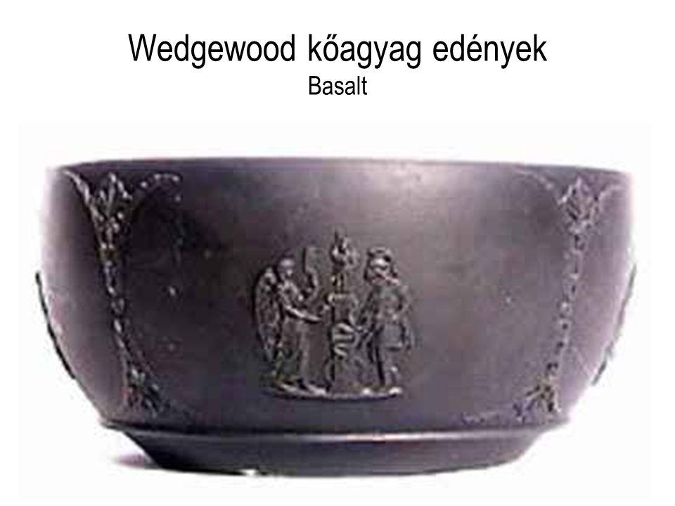 Wedgewood kőagyag edények Basalt