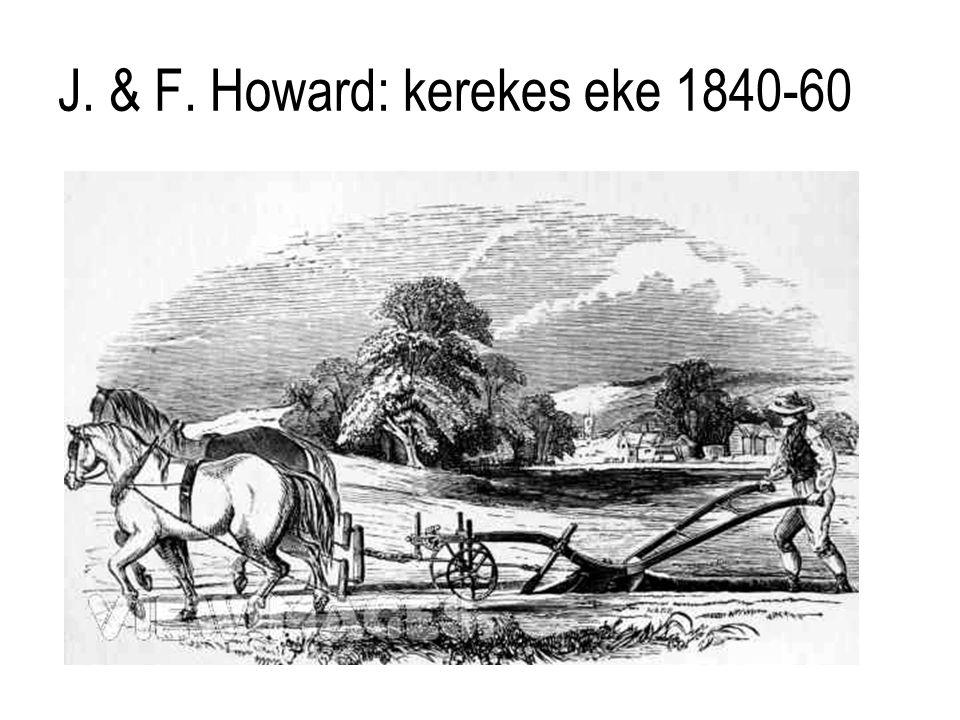 J. & F. Howard: kerekes eke 1840-60
