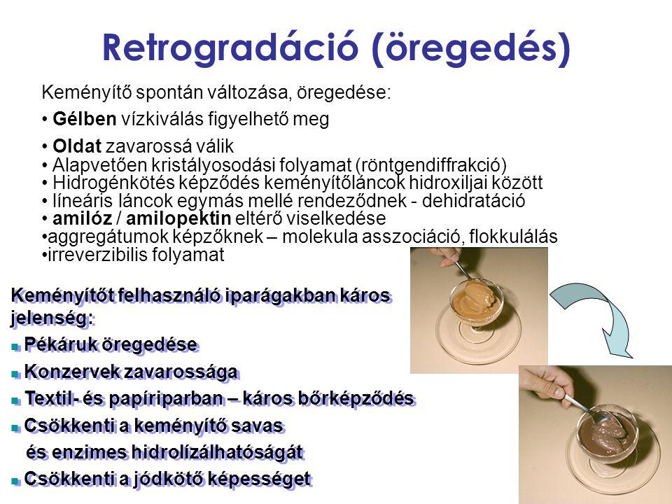Retrogradáció (öregedés)
