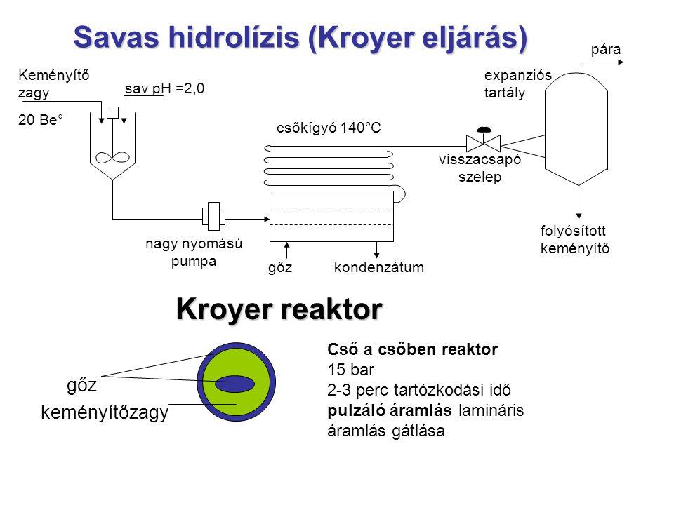 Savas hidrolízis (Kroyer eljárás)